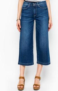 Укороченные джинсы расклешенного кроя More & More