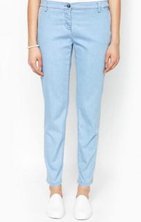 Голубые брюки чиносы Trussardi Jeans