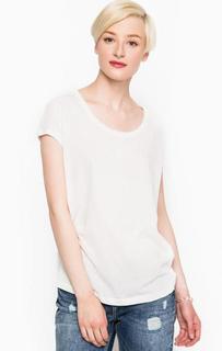 Белая футболка свободного кроя Mexx