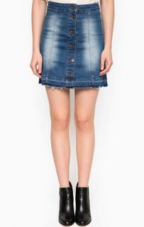 Джинсовая юбка на болтах Tom Tailor Denim