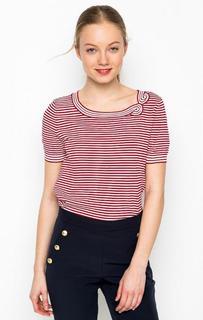 Красная футболка в полоску Marina Yachting