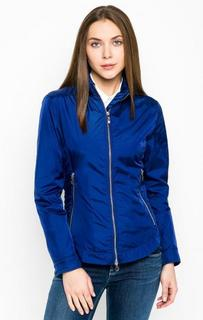 Синяя куртка со скрытым капюшоном Armani Jeans