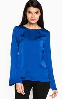 Блуза с глубоким вырезом на спине Blend She