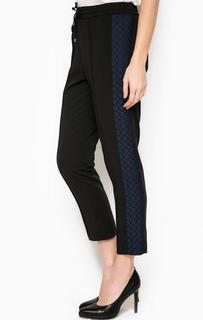 Укороченные брюки из хлопка Trussardi Jeans