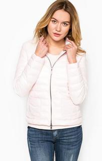 Розовая куртка на двухзамковой молнии More & More