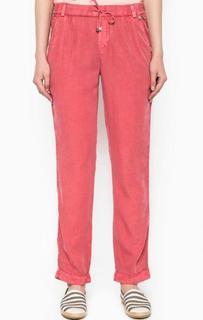 Зауженные розовые брюки Rich&Royal