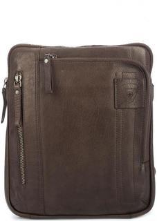 Кожаная сумка через плечо Strellson