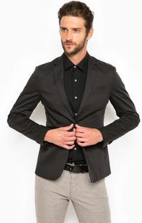 Хлопковый пиджак на двух пуговицах Marciano Guess