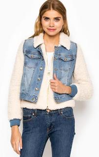 Куртка из искусственного меха с жилетом Juicy Couture