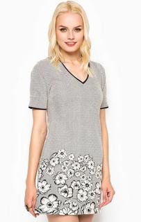 Короткое платье с треугольным вырезом Juicy Couture