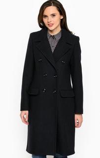Синее классическое пальто из шерсти More & More