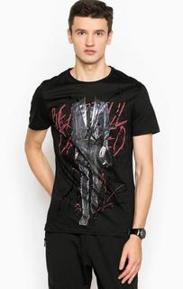 Хлопковая футболка с короткими рукавами Antony Morato