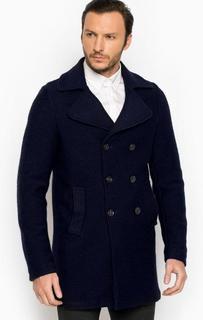 Двубортное трикотажное пальто Cinque
