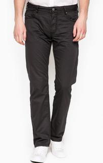 Хлопковые брюки прямого кроя Armani Jeans