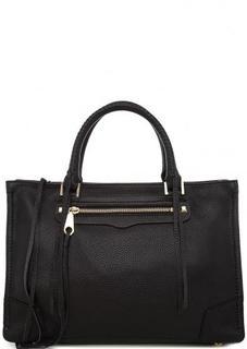 Черная сумка из натуральной кожи Rebecca Minkoff