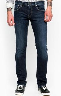 Слегка расклешенные синие джинсы с низкой посадкой Pepe Jeans