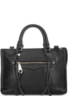 Маленькая кожаная сумка с короткими ручками Rebecca Minkoff