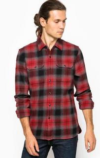 Клетчатая рубашка из хлопка приталенного кроя Levis®
