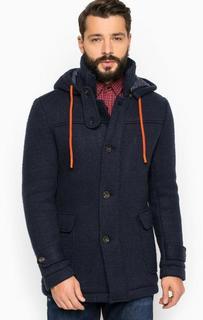 Пальто с наполнителем и съемным капюшоном Guess