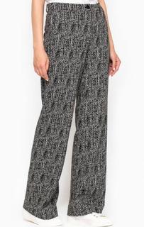Расклешенные брюки из полиэстера More & More
