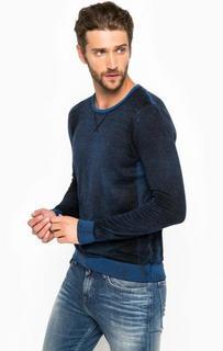 Хлопковый джемпер с круглым вырезом Calvin Klein Jeans