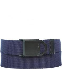 Синий текстильный ремень Calvin Klein Jeans