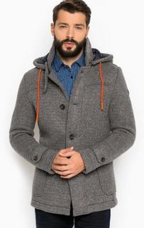 Трикотажное пальто с наполнителем Guess