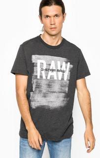 Хлопковая футболка с коротким рукавом G Star RAW