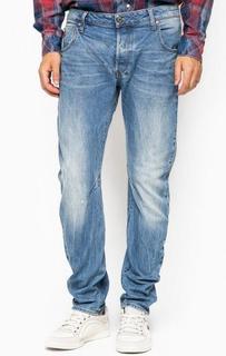 Зауженные джинсы с застежкой на болты G Star RAW