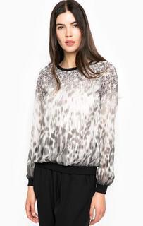 Блуза с животным принтом Guess