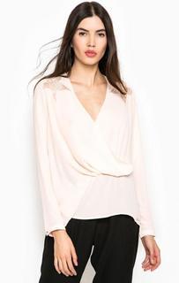 Блуза с драпировкой Guess