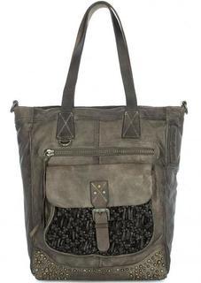 Вместительная сумка из натуральной кожи Taschendieb
