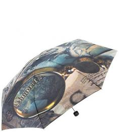 Сумочный механический зонт с куполом из полиэстера Flioraj