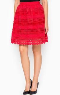 Пышная красная юбка Miss Sixty