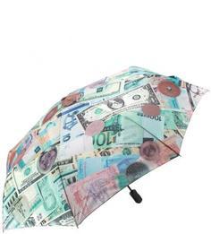 Разноцветный автоматический зонт Flioraj