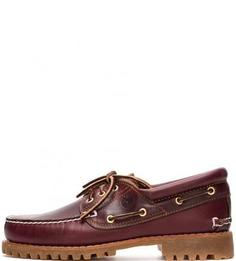 Кожаные ботинки с отделкой под топсайдеры Timberland