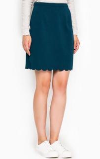 Короткая юбка с фигурной обработкой подола Sugarhill Boutique