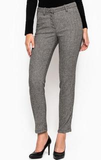 Укороченные брюки из акрила, шерсти и полиэстера MET