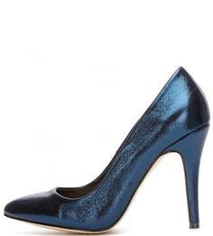 Текстильные туфли на каблуке Menbur