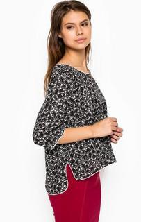 Блуза с удлиненный спинкой MET