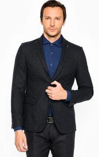 Однотонный пиджак на пуговицах Liu Jo Uomo