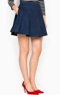 Короткая джинсовая юбка-шорты Miss Sixty