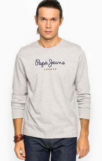 Хлопковая футболка с круглым вырезом Pepe Jeans