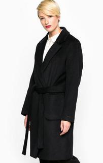 Демисезонное пальто из полиэстера и шерсти Maison Scotch
