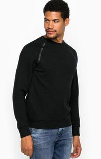 Свитшот из хлопка и полиэстера Calvin Klein Jeans