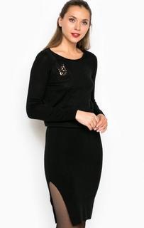 Трикотажное платье с вырезом на спине Miss Sixty