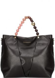 Кожаная сумка со съемным ремнем Roberta Gandolfi