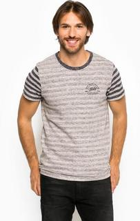 Плотная футболка из хлопка в полоску Pepe Jeans