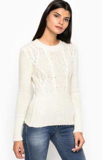 Вязаный свитер из акрила MET
