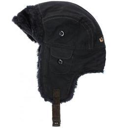 Хлопковая шапка со вставками из искусственного меха Goorin Bros.